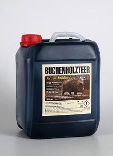 Buchenholzteer 5 kg im Kanister